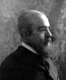Vilfredo Pareto (1848 - 1923), italienischer Ingenieur, Ökonom und Soziologe