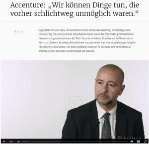 Beispiel: Tableau-Kundenreferenz Accenture von Brevis
